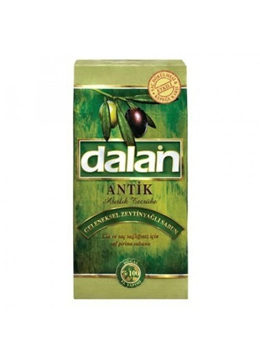 Dalan Dalan Antik Zeytin Yağlı Geleneksel Yeşil Kalıp Sabun 5 Li 5x180=900 Gr Renksiz